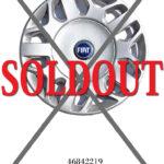 フィアット ムルティプラ フルホイールカバー 46842219 生産中止