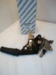 アルファロメオ 159 サイドブレーキレバー(黒) 156061800