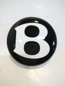 ベントレー ハブキャップ 黒 3W0601159Q 商品画像