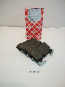 BMWミニ R56 フロントディスクパッド 34116789157 商品画像