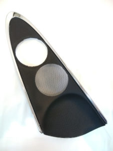 BMWミニ ドアスピーカーカバー メタル(黒) 右 51417414468 商品画像