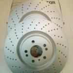 ベンツ GLE(W166) フロントディスクローターセット 1664211600(PD1128213S)