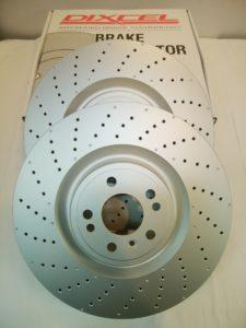 メルセデスベンツパーツ 通販 フロントディスクローターセット 1664211600(PD1128213S)商品画像